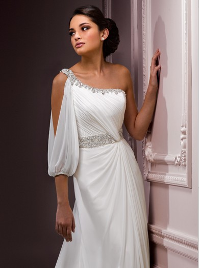 Getting married on skopelos in a grecian wedding gown daphne weddings empire waist grecian style wedding dresses 20121 junglespirit Image collections