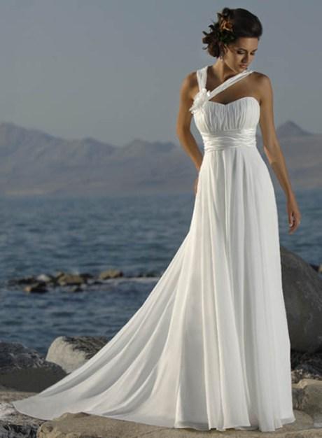 Beach Grecian Style Wedding Dresses 20171